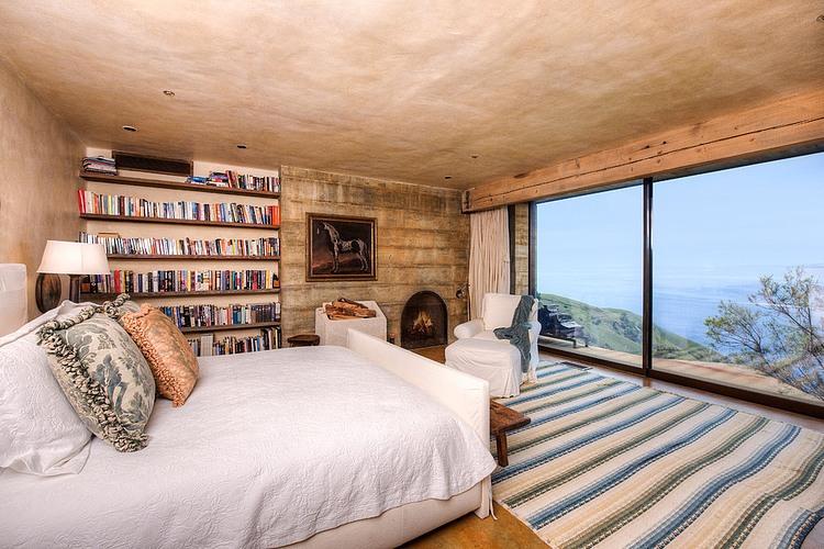 adelaparvu.com despre vila americana pe malul oceanului, casa in stil mediteranean, casa Big Sur, arhitect Mickey Muening (11)