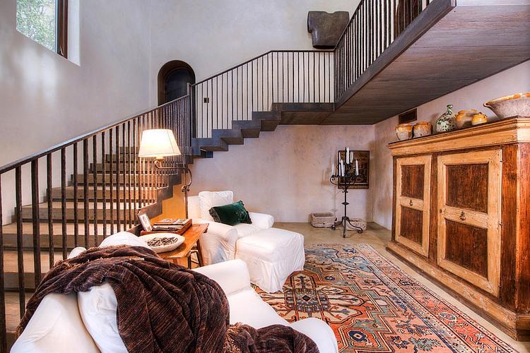 adelaparvu.com despre vila americana pe malul oceanului, casa in stil mediteranean, casa Big Sur, arhitect Mickey Muening (13)