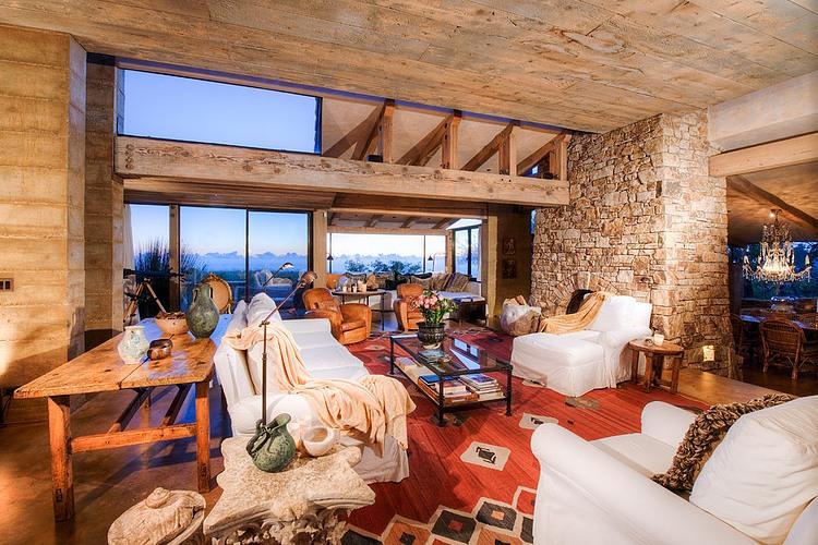 adelaparvu.com despre vila americana pe malul oceanului, casa in stil mediteranean, casa Big Sur, arhitect Mickey Muening (14)
