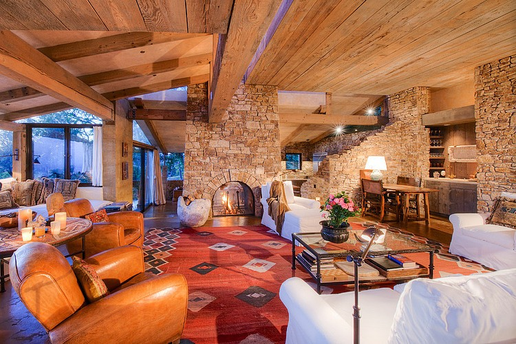 adelaparvu.com despre vila americana pe malul oceanului, casa in stil mediteranean, casa Big Sur, arhitect Mickey Muening (15)