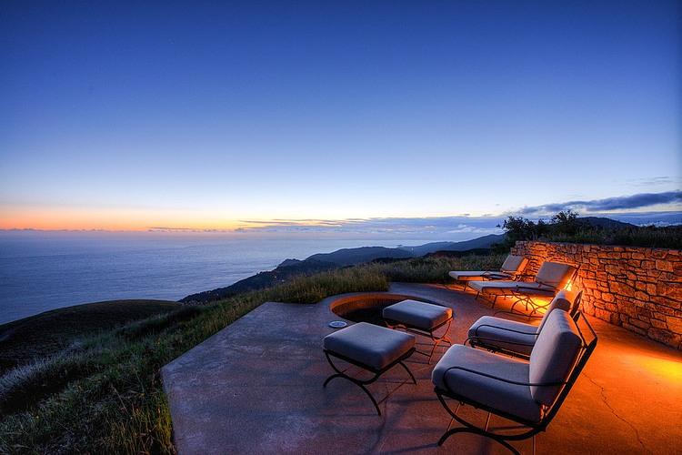 adelaparvu.com despre vila americana pe malul oceanului, casa in stil mediteranean, casa Big Sur, arhitect Mickey Muening (16)