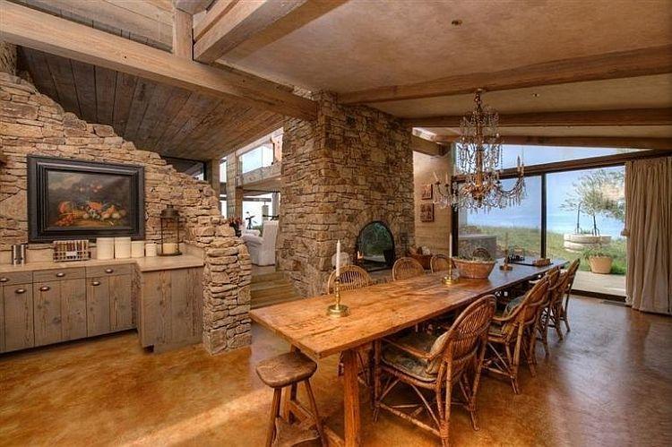 adelaparvu.com despre vila americana pe malul oceanului, casa in stil mediteranean, casa Big Sur, arhitect Mickey Muening (18)