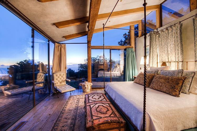 adelaparvu.com despre vila americana pe malul oceanului, casa in stil mediteranean, casa Big Sur, arhitect Mickey Muening (5)