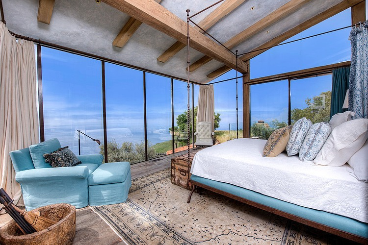 adelaparvu.com despre vila americana pe malul oceanului, casa in stil mediteranean, casa Big Sur, arhitect Mickey Muennig