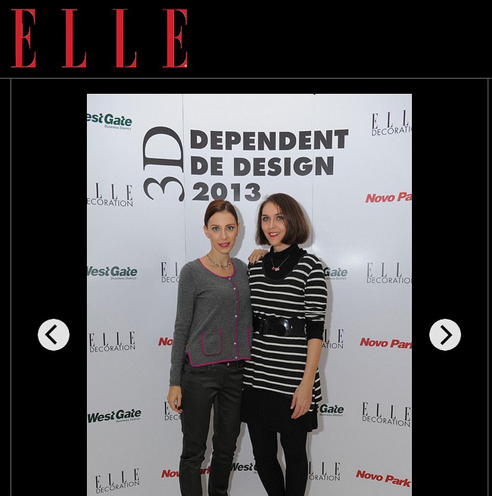 La concursul de design organizat de Elle Decoration Romania alaturi de Eli Roman de la Realitatea TV