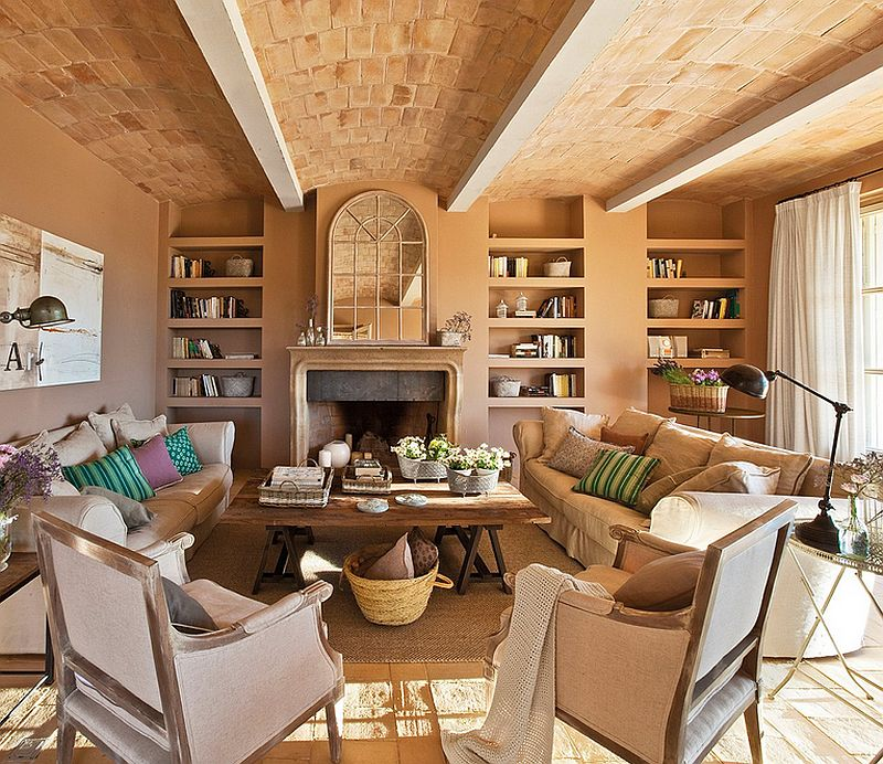 adelaparvu.com casa cu aspect de ferma veche, casa Spania, arhitectura si design interior Lizaturry Tuneu, Foto ElMueble (7)