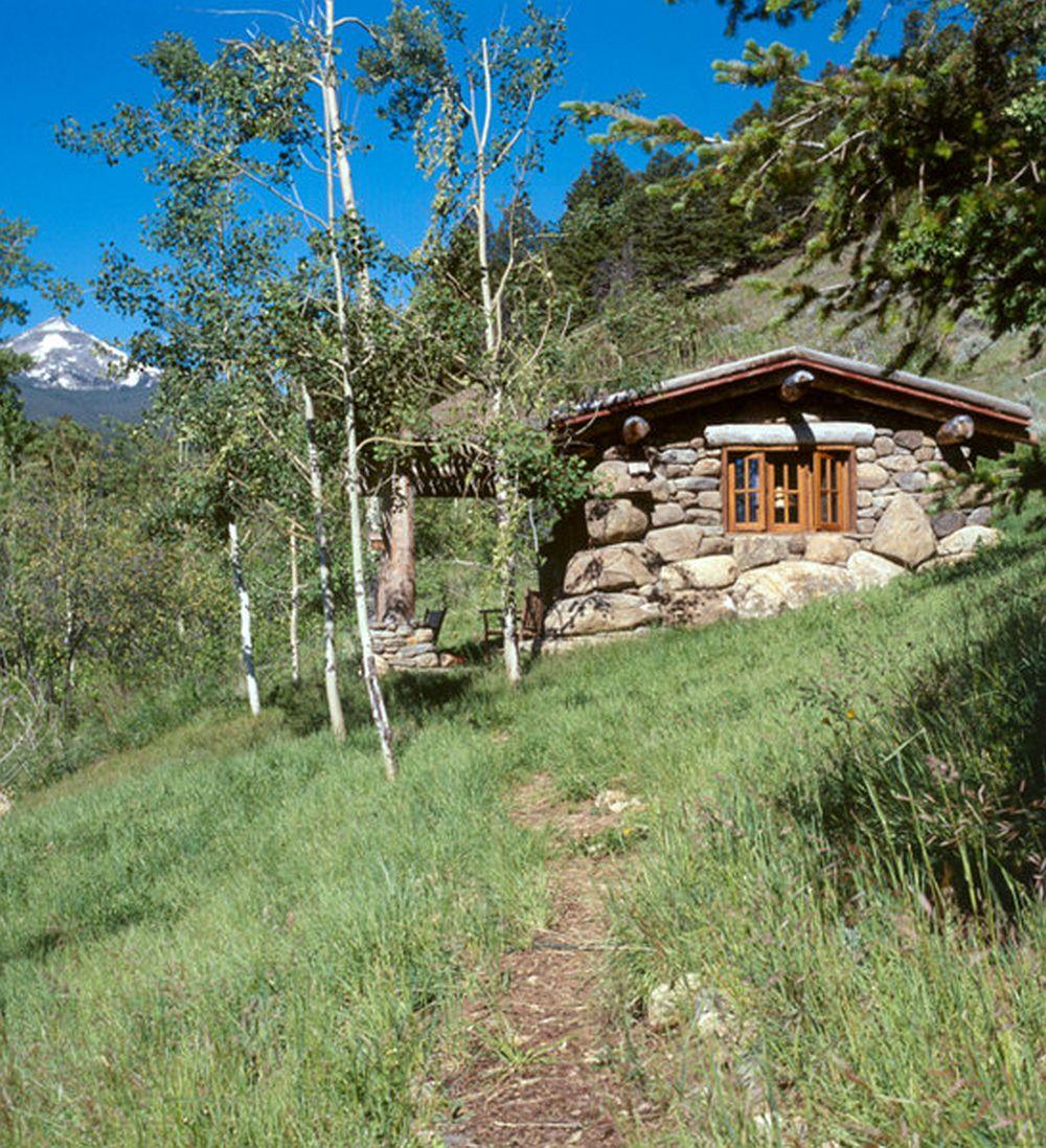 adelaparvu.com casa de pescuit din lemn si piatra, design Miller Architects (2)