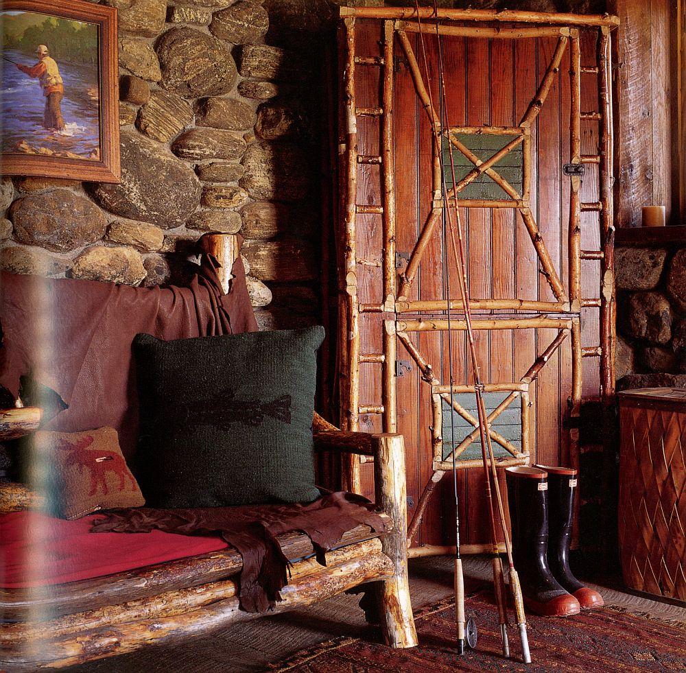 adelaparvu.com casa de pescuit din lemn si piatra, design Miller Architects (5)