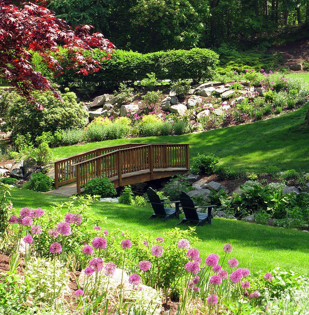 adelaparvu.com despre Allium ceapa decorativa, text Carli Marian, Foto Austin Ganim Landscape Design