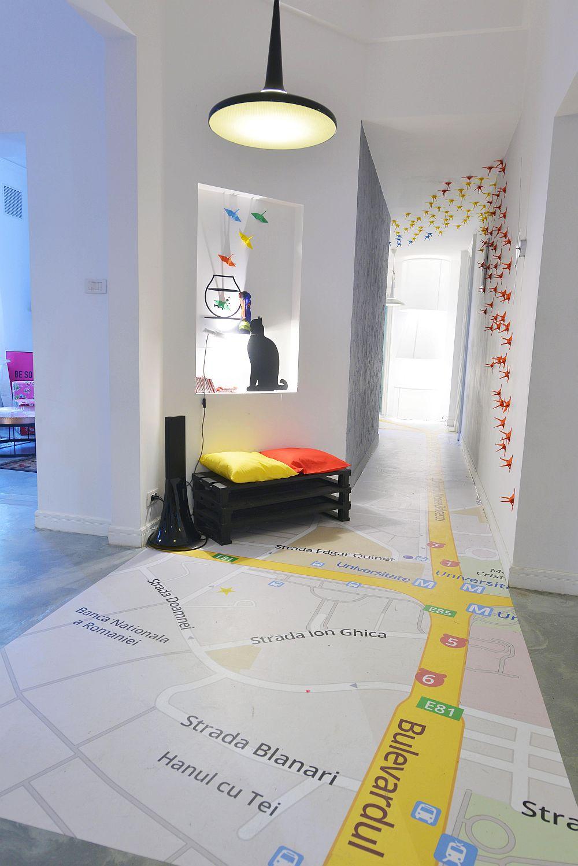 adelaparvu.com despre Google House Romania, design interior Dragos Solot, tablouri Deco Box Liliana Stoica, organizator FCB Bucharest (6)