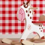 adelaparvu.com despre Marvelous Store, Romania, fabrica de jucarii si mobilier din lemn pentru copii, in foto Balansoar ponei
