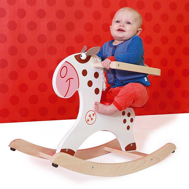 adelaparvu.com despre Marvelous Store, Romania, fabrica de jucarii si mobilier din lemn pentru copii, in foto Balansoar ponei indian
