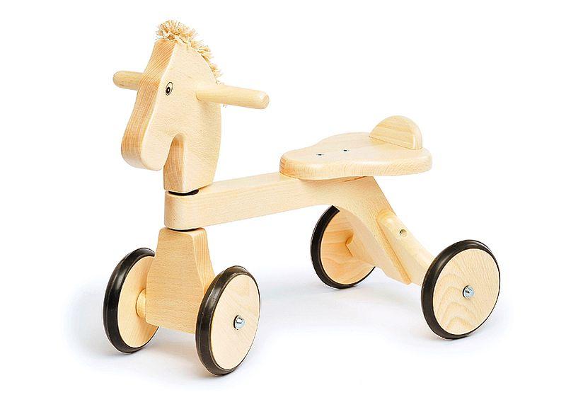 adelaparvu.com despre Marvelous Store, Romania, fabrica de jucarii si mobilier din lemn pentru copii, in foto Mergator calut cu coama