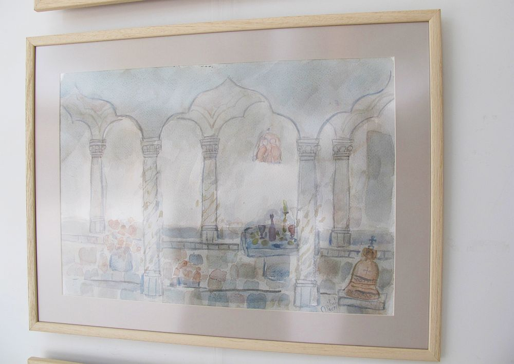 adelaparvu.com despre acuarele Mihai Macri, atelier artist Mihai si Mariana Macri (16)