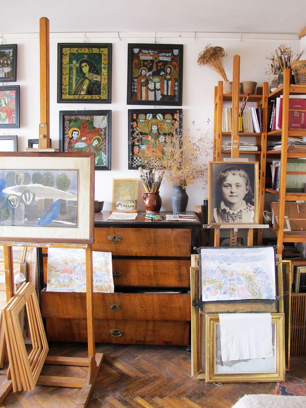 adelaparvu.com despre acuarele Mihai Macri, atelier artist Mihai si Mariana Macri (23)