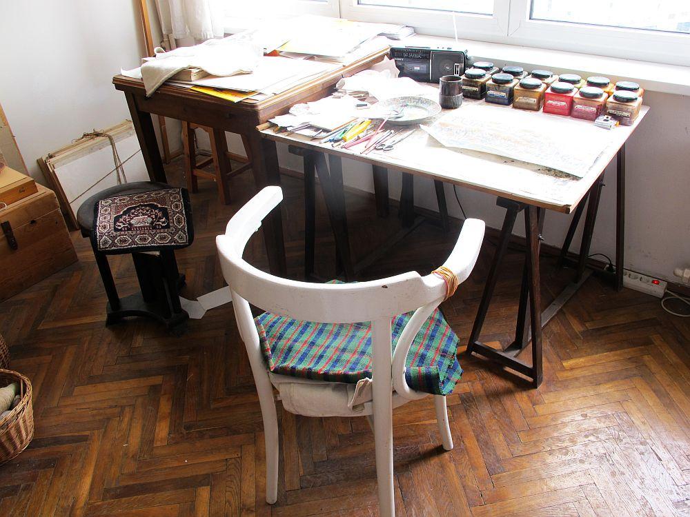 adelaparvu.com despre acuarele Mihai Macri, atelier artist Mihai si Mariana Macri (34)