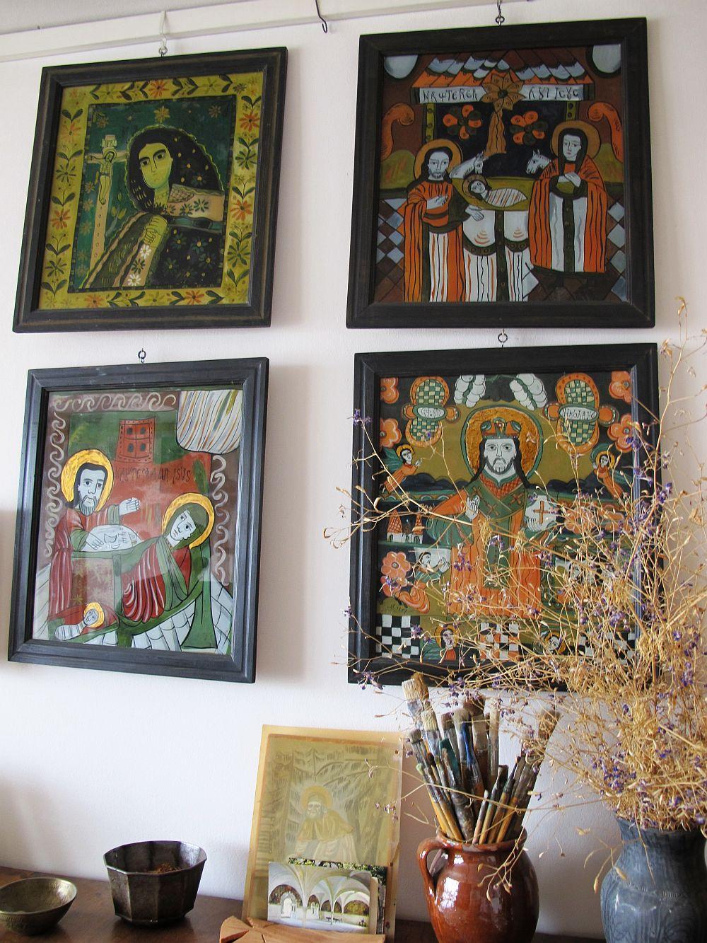 adelaparvu.com despre acuarele Mihai Macri, atelier artist Mihai si Mariana Macri (40)