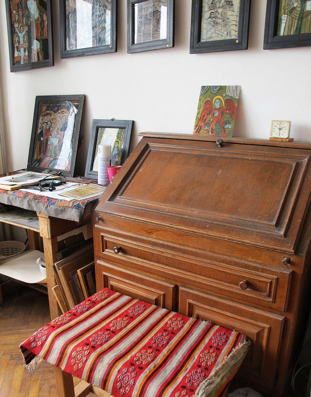 adelaparvu.com despre acuarele Mihai Macri, atelier artist Mihai si Mariana Macri (42)