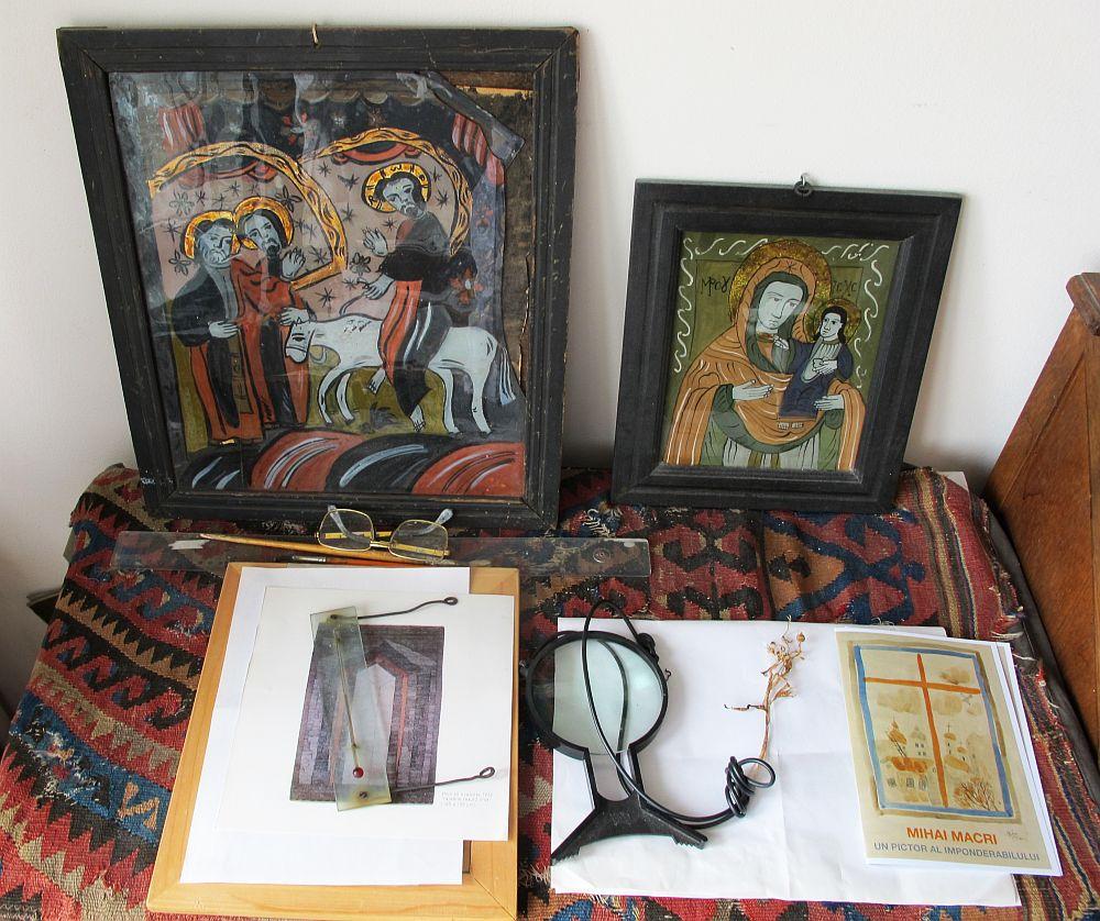 adelaparvu.com despre acuarele Mihai Macri, atelier artist Mihai si Mariana Macri (45)