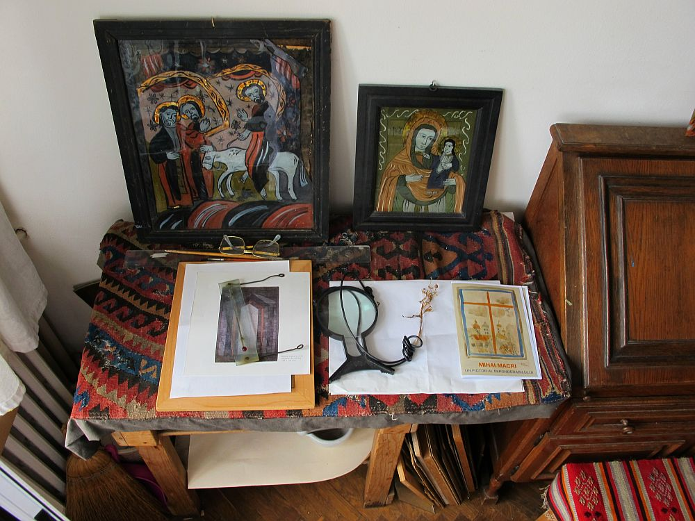 adelaparvu.com despre acuarele Mihai Macri, atelier artist Mihai si Mariana Macri (46)