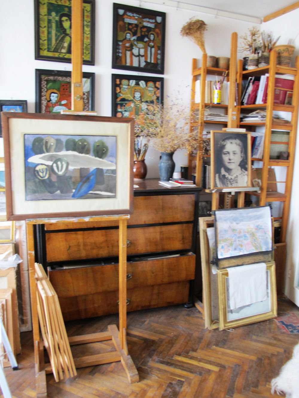 adelaparvu.com despre acuarele Mihai Macri, atelier artist Mihai si Mariana Macri (49)