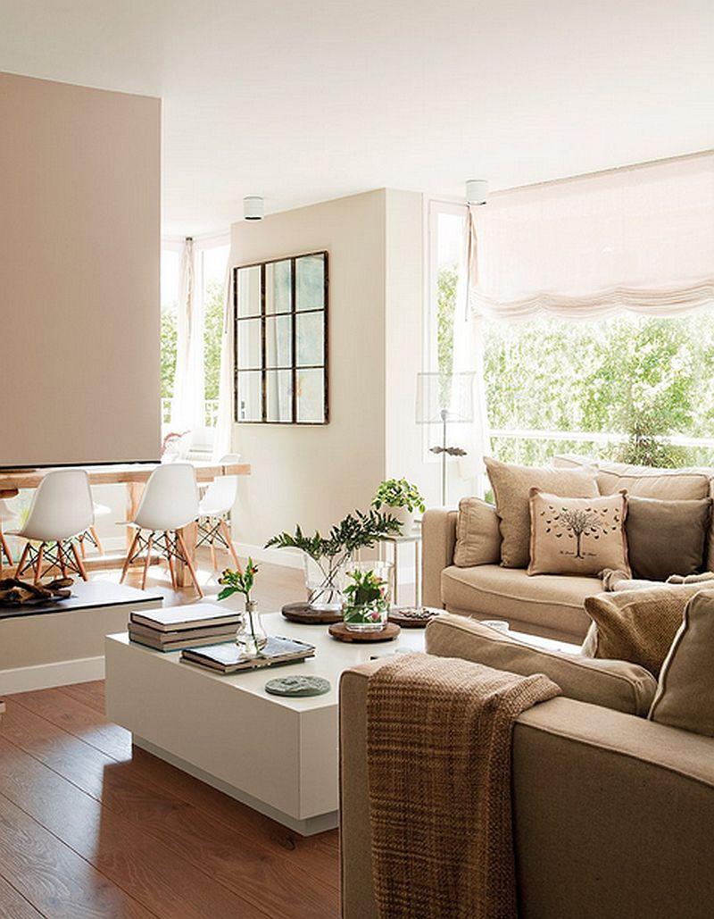 adelaparvu.com despre apartament de trei camere, locuinta Spania, designer Jeanette Trensig, Foto ElMueble (1)