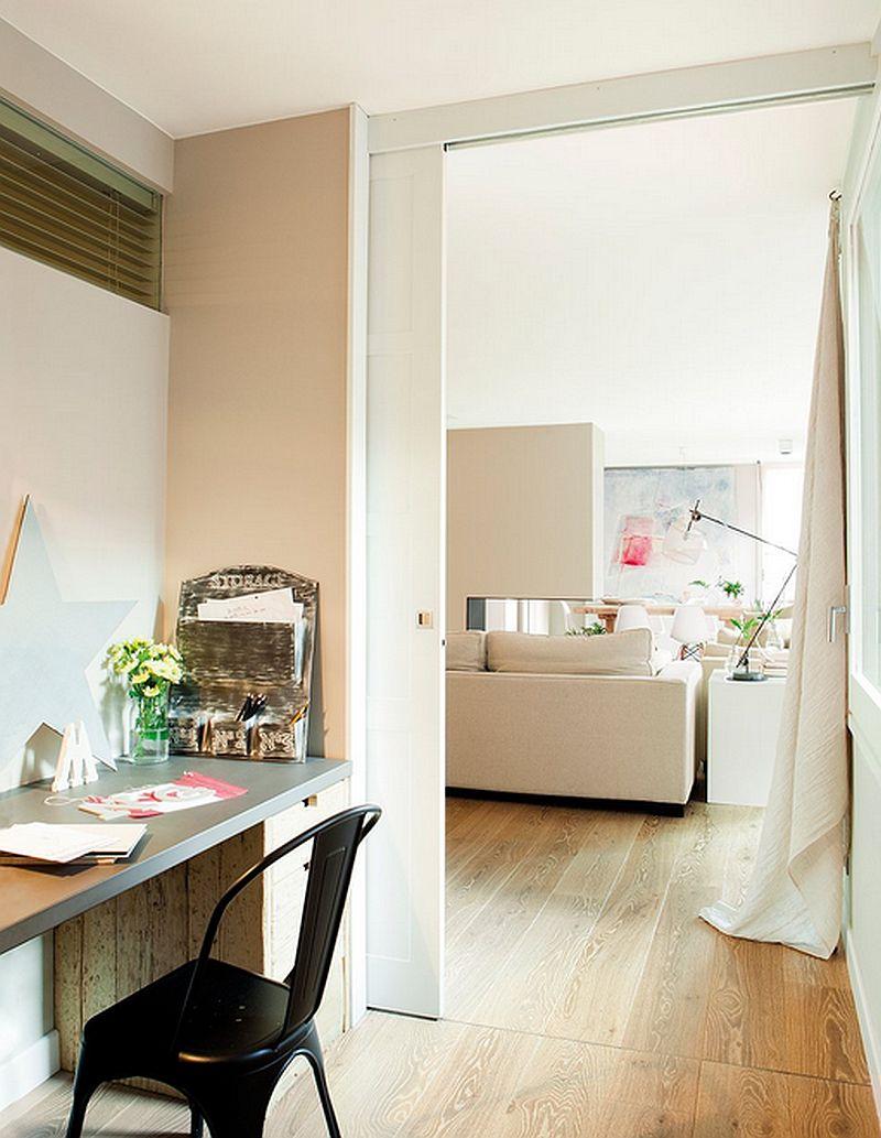 adelaparvu.com despre apartament de trei camere, locuinta Spania, designer Jeanette Trensig, Foto ElMueble (11)