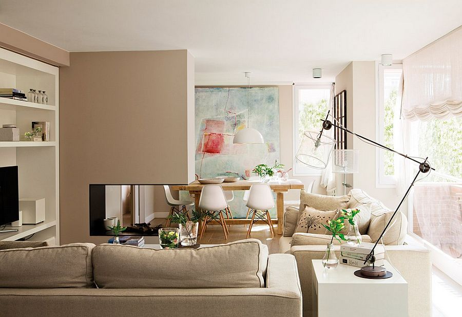 adelaparvu.com despre apartament de trei camere, locuinta Spania, designer Jeanette Trensig, Foto ElMueble (2)