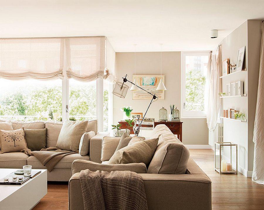 adelaparvu.com despre apartament de trei camere, locuinta Spania, designer Jeanette Trensig, Foto ElMueble (3)