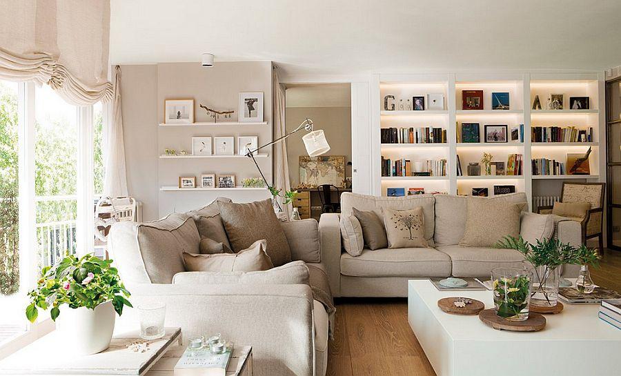 adelaparvu.com despre apartament de trei camere, locuinta Spania, designer Jeanette Trensig, Foto ElMueble (4)