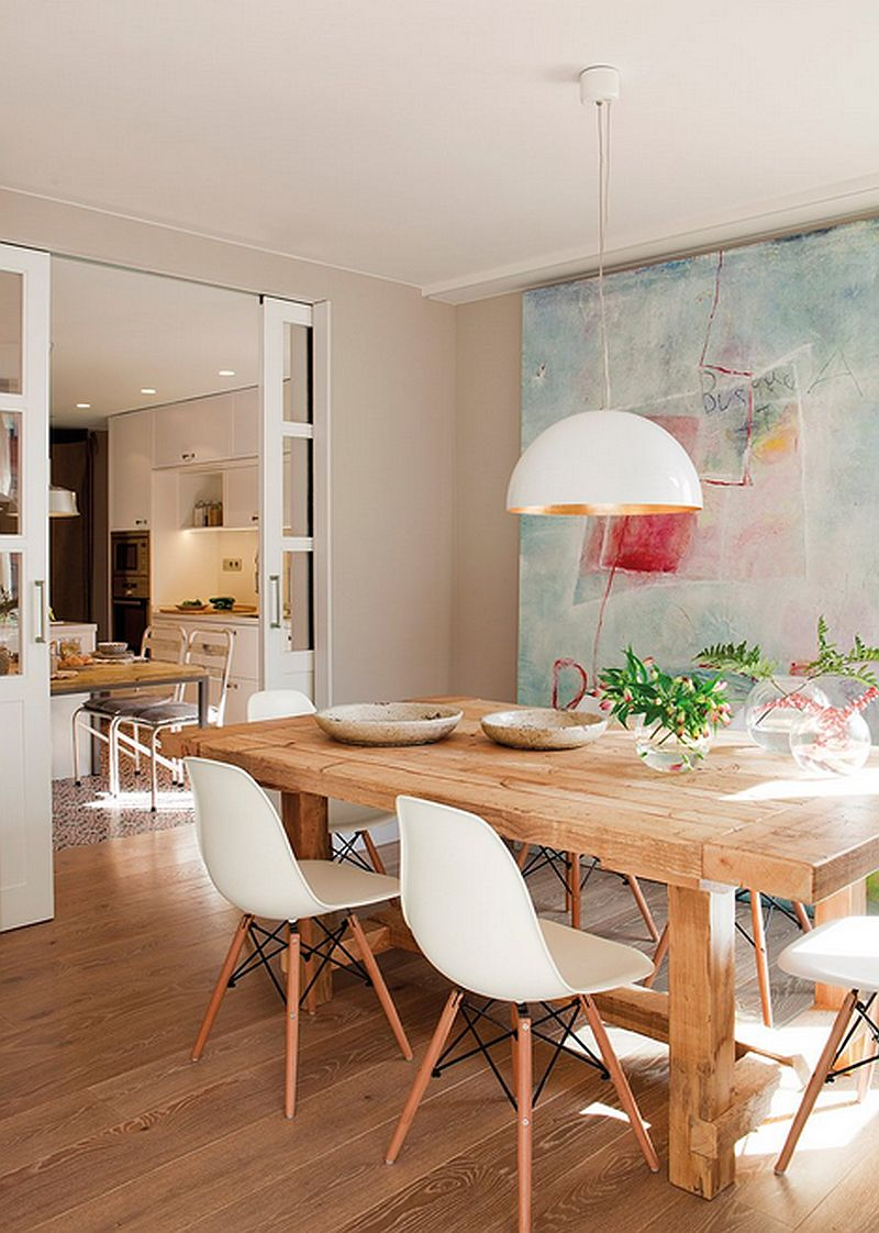 adelaparvu.com despre apartament de trei camere, locuinta Spania, designer Jeanette Trensig, Foto ElMueble (5)