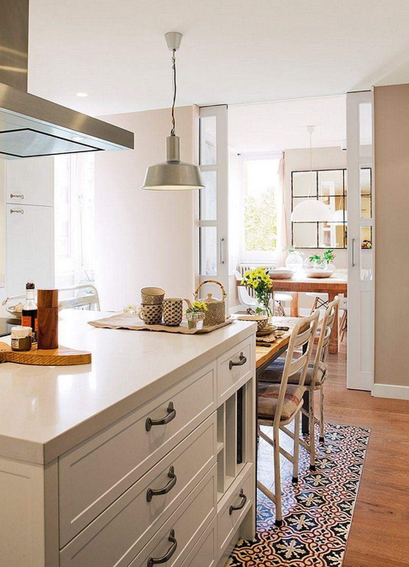 adelaparvu.com despre apartament de trei camere, locuinta Spania, designer Jeanette Trensig, Foto ElMueble (7)