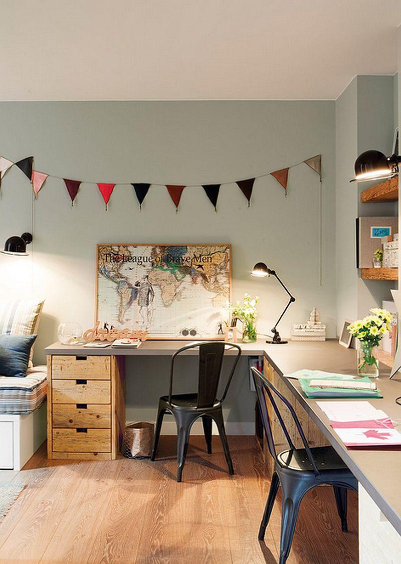 adelaparvu.com despre apartament de trei camere, locuinta Spania, designer Jeanette Trensig, Foto ElMueble (9)