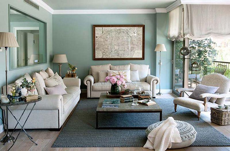 adelaparvu.com despre apartament elegant in stil francez, locuinta Spania, designer Laura Masiques Jardí (3)