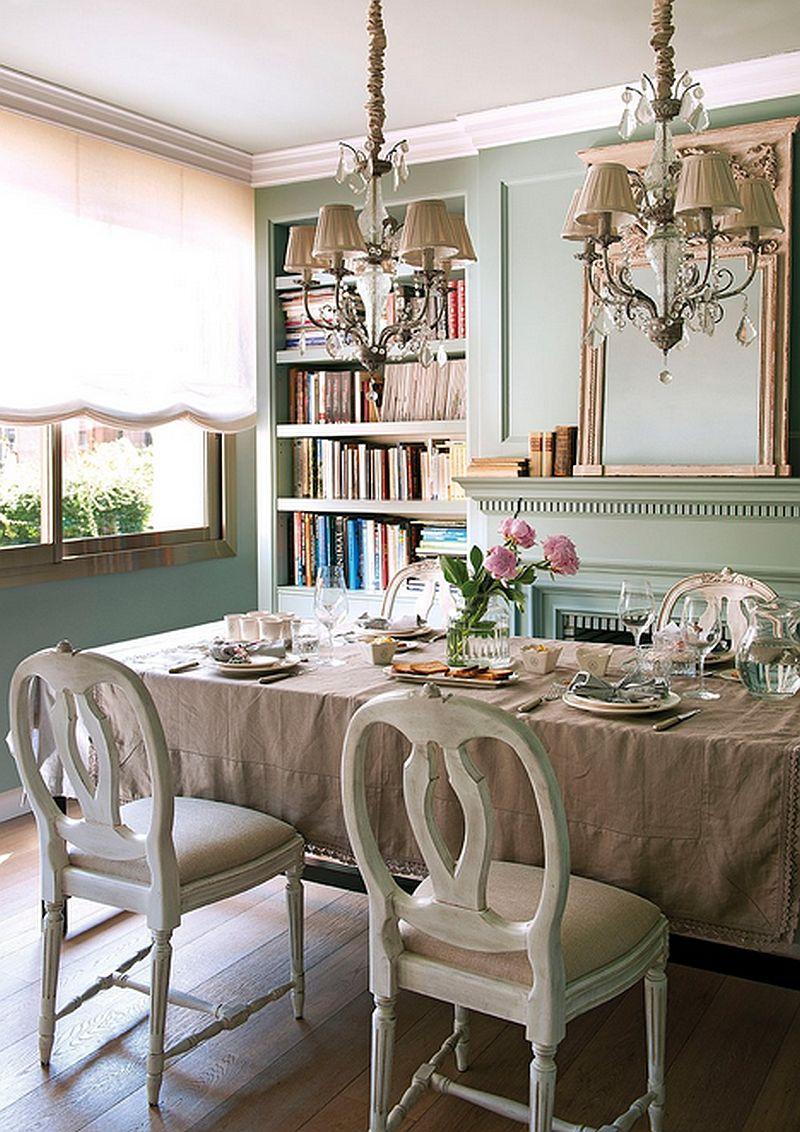 adelaparvu.com despre apartament elegant in stil francez, locuinta Spania, designer Laura Masiques Jardí (33)