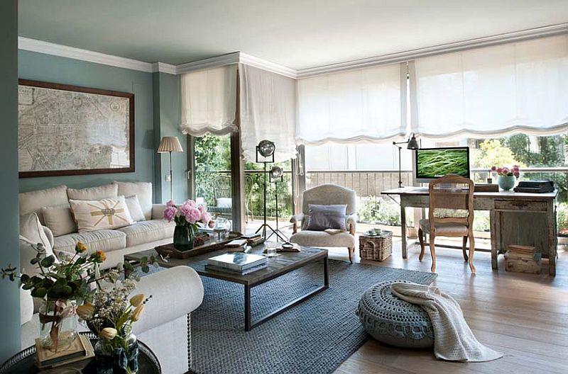 adelaparvu.com despre apartament elegant in stil francez, locuinta Spania, designer Laura Masiques Jardí (4)