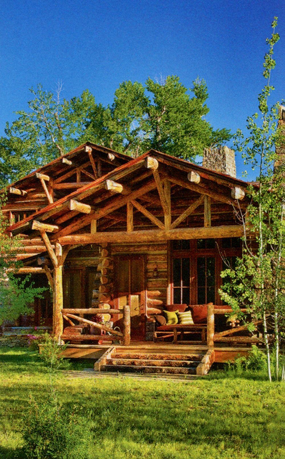 adelaparvu.com despre cabana din barne de lemn in Montana, design Miller Architects, casa lemn SUA, casa lemn Paradise Valley (17)