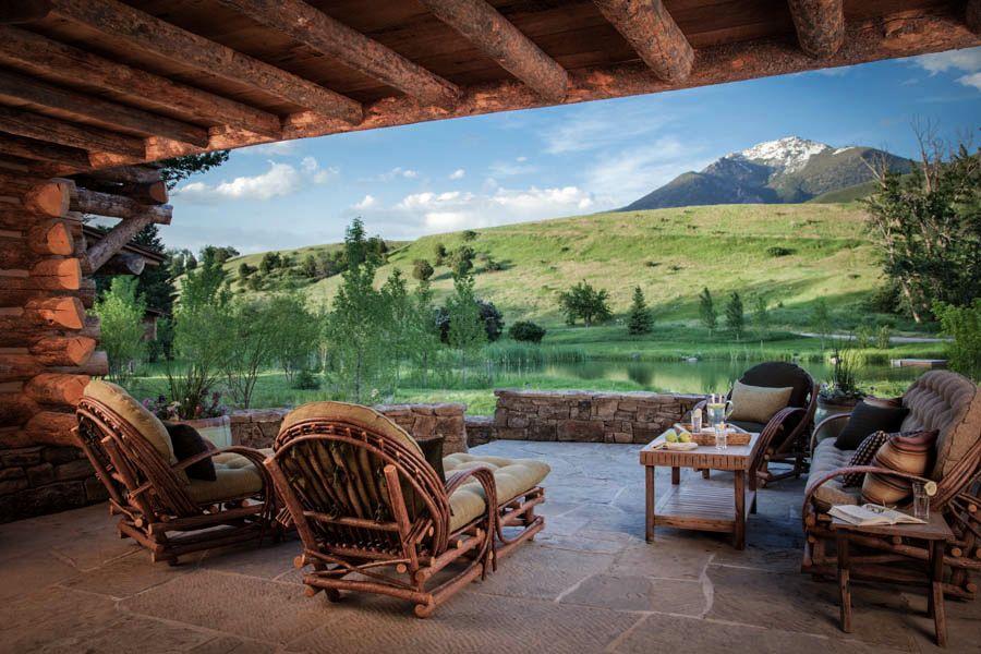 adelaparvu.com despre cabana din barne de lemn in Montana, design Miller Architects, casa lemn SUA, casa lemn Paradise Valley (21)