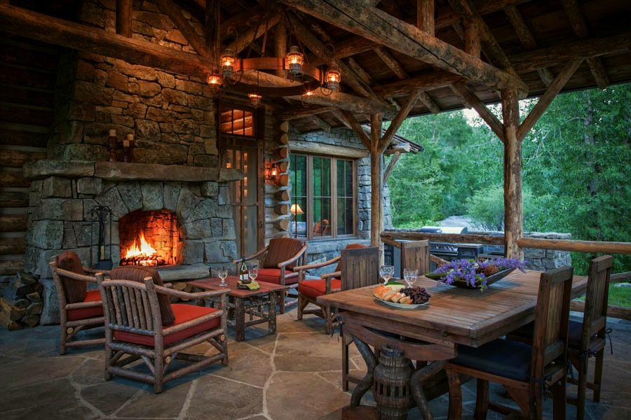 adelaparvu.com despre cabana din barne de lemn in Montana, design Miller Architects, casa lemn SUA, casa lemn Paradise Valley (22)