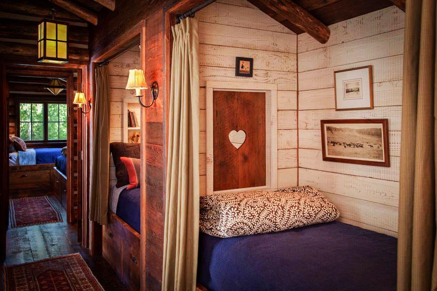 adelaparvu.com despre cabana din barne de lemn in Montana, design Miller Architects, casa lemn SUA, casa lemn Paradise Valley (26)
