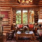 adelaparvu.com despre cabana din barne de lemn in Montana, design Miller Architects, casa lemn SUA, casa lemn Paradise Valley (3)