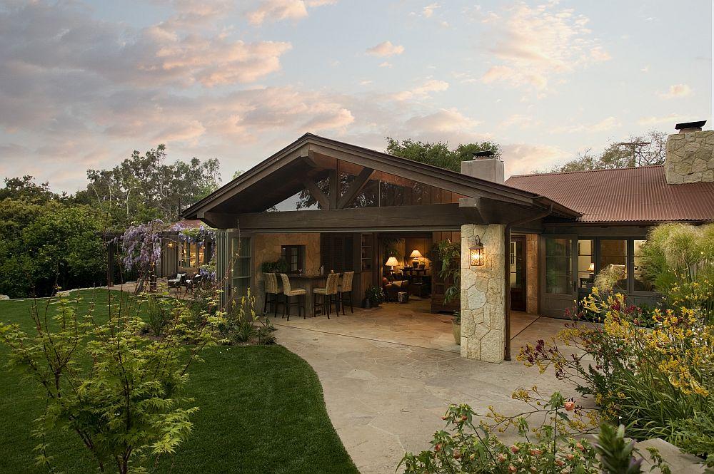 adelaparvu.com despre casa cu gradina in stil mediteranean, casa cu gradina si piscina, casa SUA, casa americana, Featherhill, design Becker Studios (1)