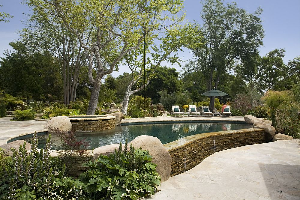 adelaparvu.com despre casa cu gradina in stil mediteranean, casa cu gradina si piscina, casa SUA, casa americana, Featherhill, design Becker Studios (11)