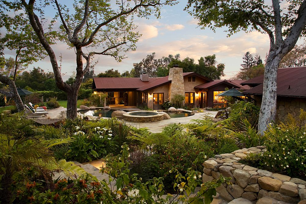 adelaparvu.com despre casa cu gradina in stil mediteranean, casa cu gradina si piscina, casa SUA, casa americana, Featherhill, design Becker Studios (15)