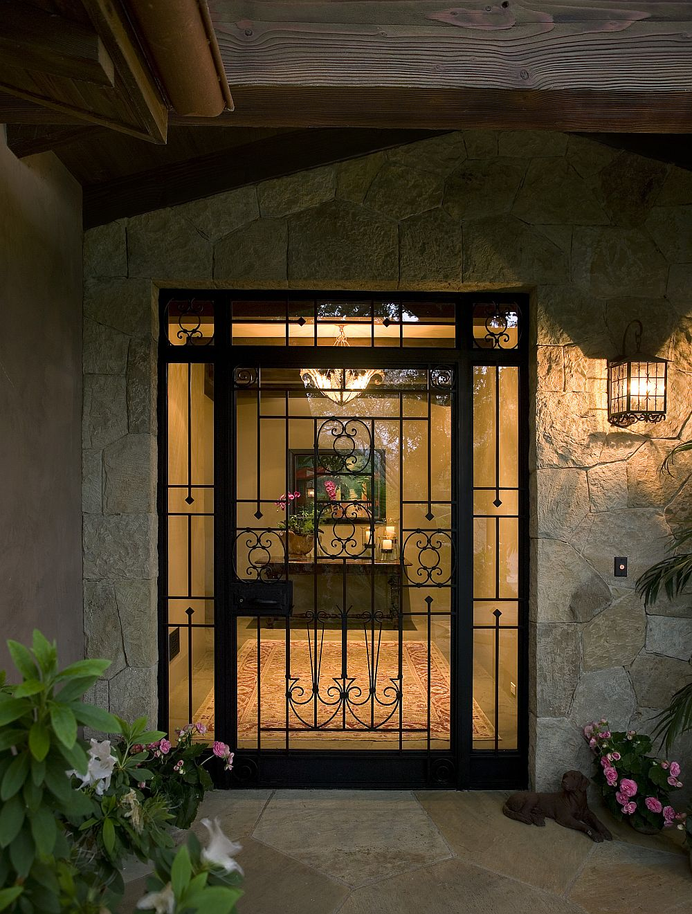 adelaparvu.com despre casa cu gradina in stil mediteranean, casa cu gradina si piscina, casa SUA, casa americana, Featherhill, design Becker Studios (3)