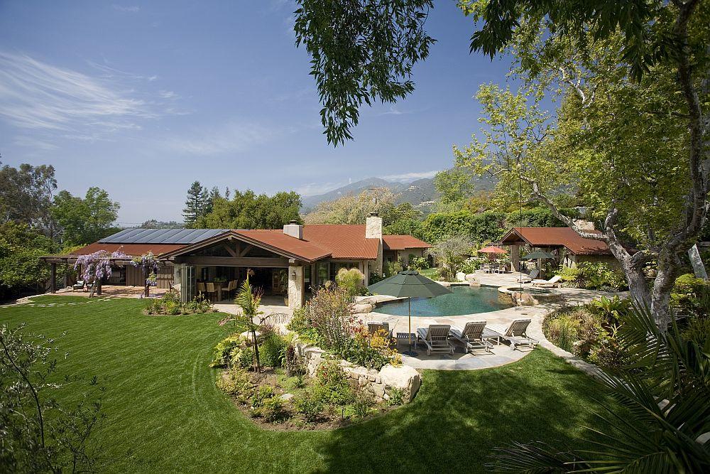 adelaparvu.com despre casa cu gradina in stil mediteranean, casa cu gradina si piscina, casa SUA, casa americana, Featherhill, design Becker Studios (5)