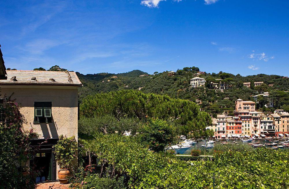 adelaparvu.com despre casa cu interior clasic si terasa cu viata de vie in Portofino, casa Italia, Foto Adriano Bacchella (1)