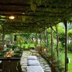 adelaparvu.com despre casa cu interior clasic si terasa cu viata de vie in Portofino, casa Italia, Foto Adriano Bacchella (11)