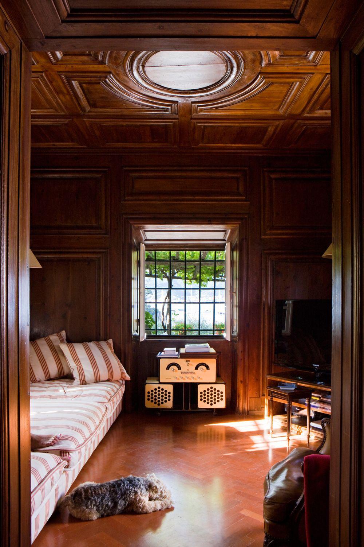 adelaparvu.com despre casa cu interior clasic si terasa cu viata de vie in Portofino, casa Italia, Foto Adriano Bacchella (15)