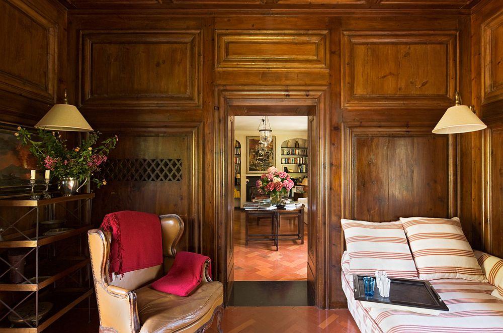 adelaparvu.com despre casa cu interior clasic si terasa cu viata de vie in Portofino, casa Italia, Foto Adriano Bacchella (16)